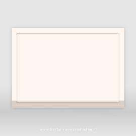 Rouwenvelop crème A5 (25x)