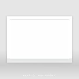 Rouwenvelop wit A5 (25x)