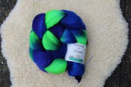 Blauw Violet en Fel Groen