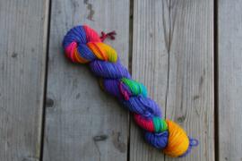 Glitter Kabouter #049 - Eenhoornstaart In Het Lila