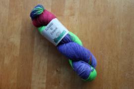 Sok Draak - KoraalRood/FelGroen/Violet