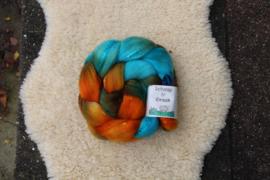 Turquoise Pompoen