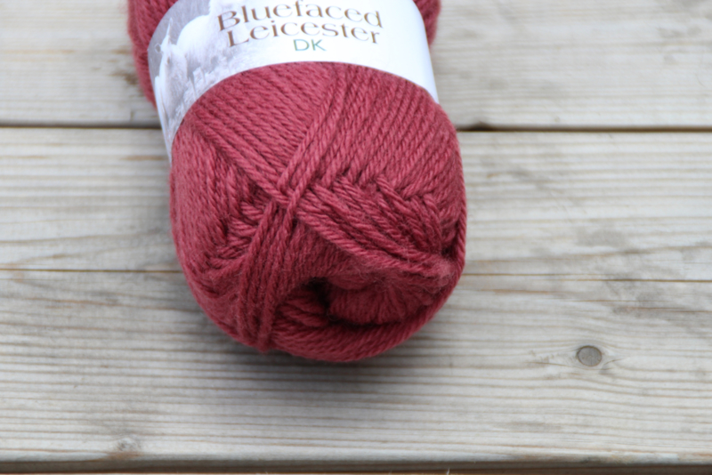 WYS BlueFaced Leicester DK ~ Pomegranate