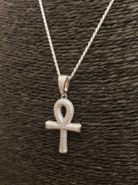 Egyptisch kruis zirkonias