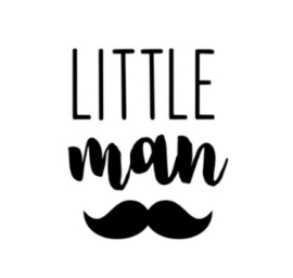 Muursticker LITTLE MAN