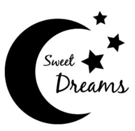 Muursticker SWEET DREAMS