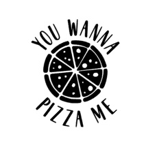 You wanna pizza me sticker speelgoed keukentje
