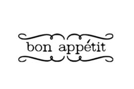 BON APPÉTIT sticker speelgoed keukentje