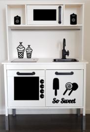 So Sweet sticker speelgoed keukentje