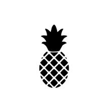Ananas sticker speelgoed keukentje