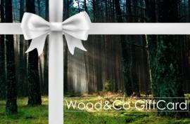 Wood&Co Collectie Cadeaubon