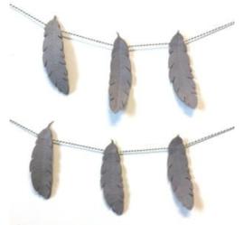 Hardicraft veren slinger viltpakket