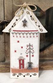 Mini Christmas house white