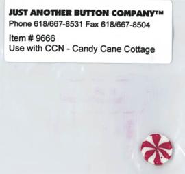 Santa's Village 8-Candy Cane Cottage Buttons