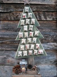 houten boom voor the twelve days of christmas