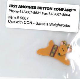 Santa's Village 9-Santa's Sleighworks Button
