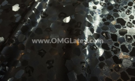 OMG! Textured broken glass latex!