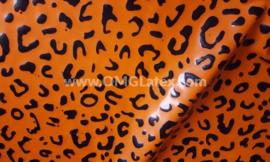 OMG! Leopard latex orange!