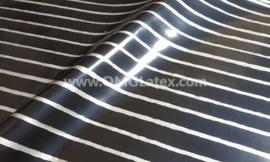 OMG! Silver Pinstripe latex!