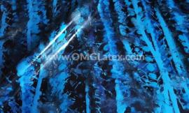 OMG! Lines in blue tones latex!