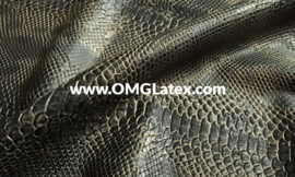 OMG! Textured 3D snakeskin! 2 colours