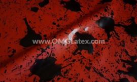 OMG! Splatter latex!