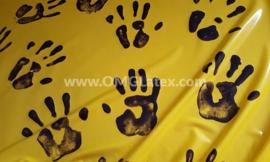 OMG! Hand prints latex!