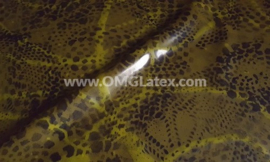 OMG! Snake skin latex!