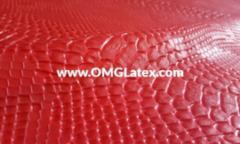 OMG! Textured 3D snakeskin! 1 colour