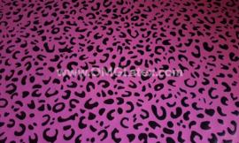 OMG! Leopard latex dark pink!