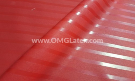 OMG! Textured stripes latex!