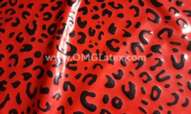 OMG! Leopard latex red!