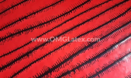 OMG! Fishbone lines latex!
