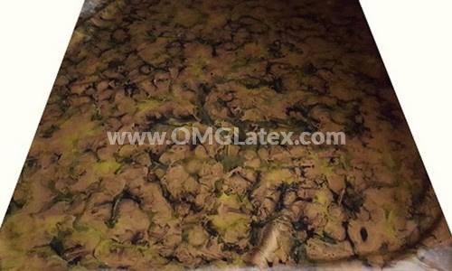 OMG! Camouflage latex! #2