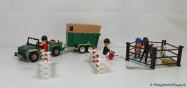 Playmobil 3140 - Paardentransport, gebruikt