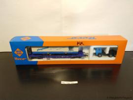 ROCO 48014 - RoRo wagon met Playmobil oplegger & Magirus terminal trekker