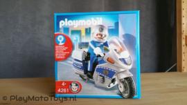 Playmobil 4261 - Polizeimotor met zwaailicht (v2)