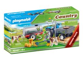 Playmobil 70367 - Landbouwer met maaimachine Promopak