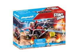 Playmobil 70554 - Stuntshow Brandweerkart