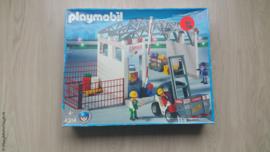 Playmobil 4314 - Vrachthal met heftruck, Gebruikt met doos.