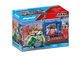 Playmobil 70773 - Goederenmagazijn