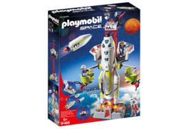 Playmobil 9488 Mars-raket met lanceerplatform (met licht & geluid)