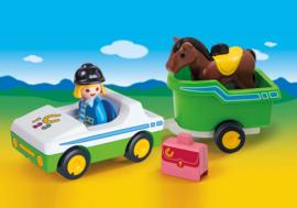 1.2.3. Playmobil 70181 - Wagen met paardentrailer