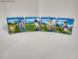 Playmobil 70161-70162-70163-70164  - Milka Promo set