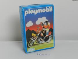 Playmobil 3831 - Chopper met berijder MISB