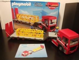 Playmobil 5467 - Zwaar transport vrachtwagen, gebruikt