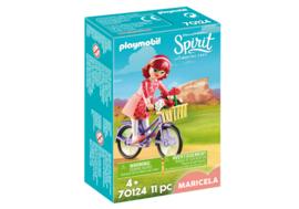 Playmobil 70124 - Maricela met fiets
