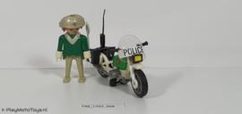 """Playmobil 3564x - Politiemotor """"Police"""", gebruikt"""