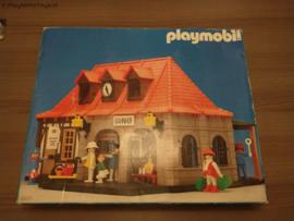 Playmobil 4300 - Main Station (V1, gebruikt) (2) - VERKOCHT!