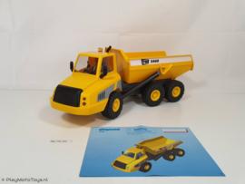 Playmobil 5468 - Grote kiepwagen, gebruikt